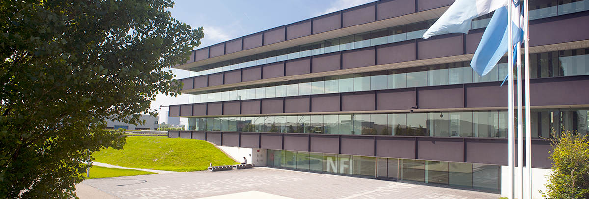 NFI gebouw contact slider